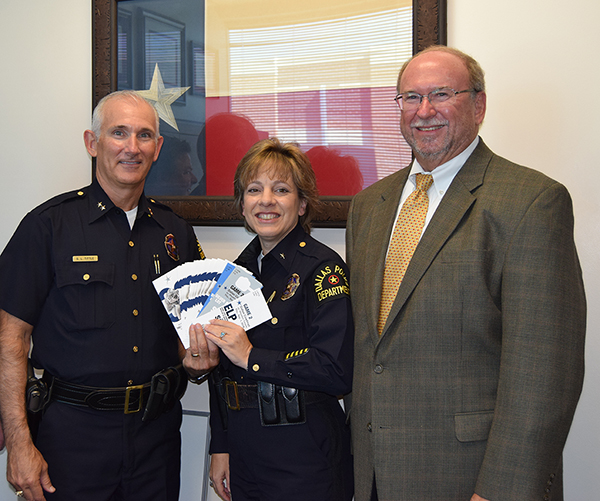 July 7 S W A T  Officers Thanked With Suite for Cowboys Game